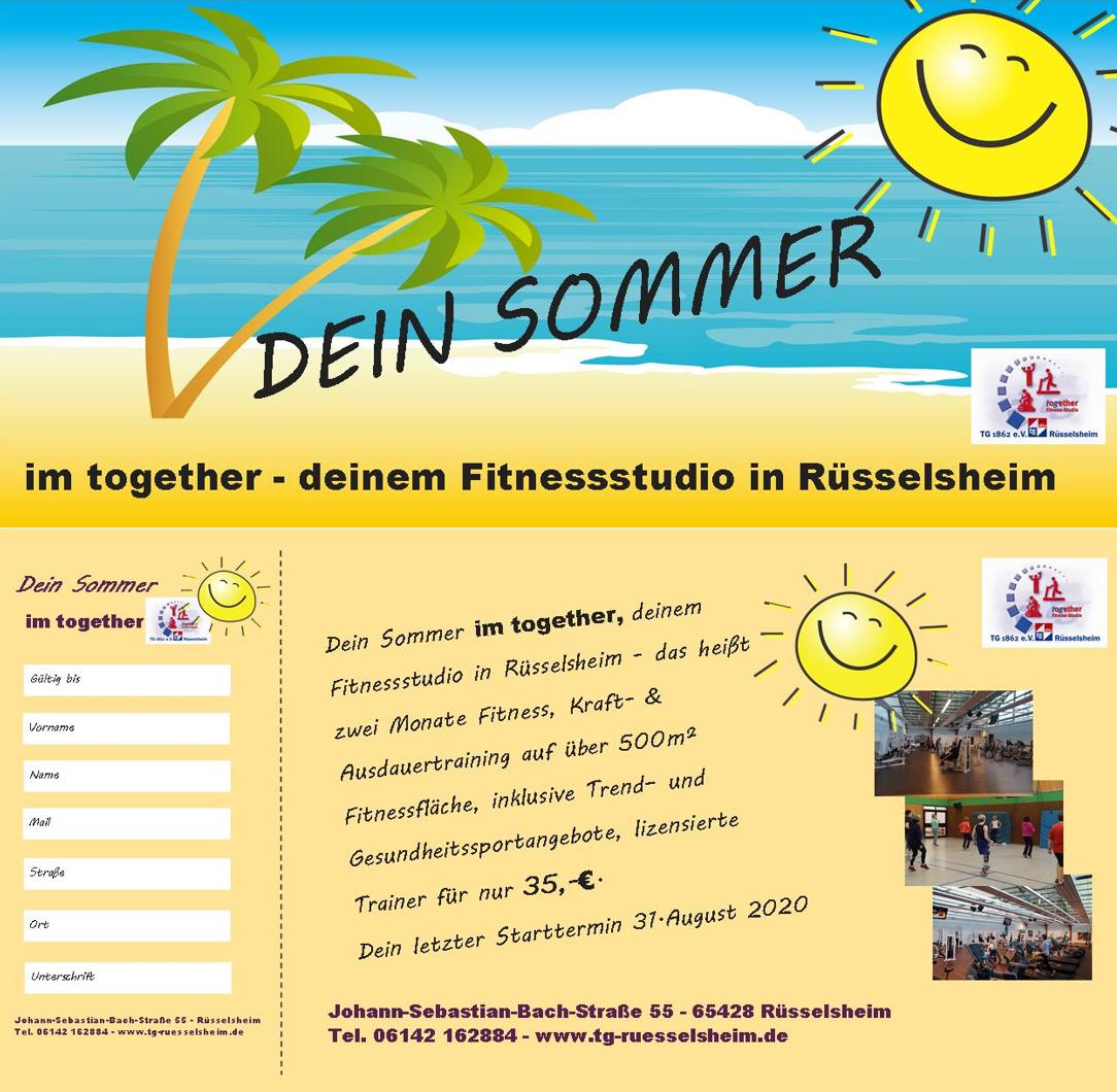 Sommerangebot Together